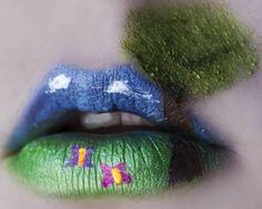 16 Craziest Lip Art Designs - Oddee.com