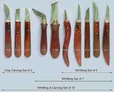 Whittling & Carving knives