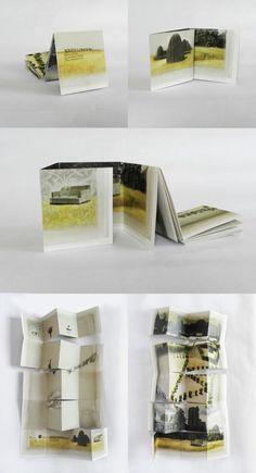 Carolina Martinez-Marin - Single sheet book | Green Chair Press Blog
