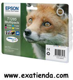 Ya disponible Cartucho Epson pack c13t12854010    (por sólo 43.99 € IVA incluído):    Multipack (C, M, Y, K) para Stylus S22/SX125/SX420/425W/Office BX305 La tinta Epson DURABrite Ultra produce documentos de texto de calidad láser y fotografías de calidad de laboratorio que además de ofrecer un aspecto fantástico son resistentes al agua, las manchas y la decoloración.     * Todos los cartuchos que necesites para tu impresora en un sólo pack y       con un ahorro imp