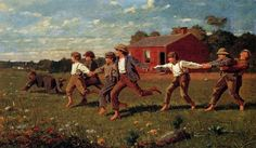Snap+the+Whip,+1872+-+Winslow+Homer