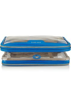 Anya Hindmarch$250 Patent Leather Trimmed Travel Case
