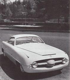 Abarth Fiat 1100 (Ghia), 1953  1950's Ghia designs had a certain look. It didn't matter who's drivetrain.