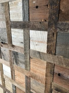 Finium Noble Hayloft ( Reclaimed barnwood) close up of panels installed in the studio #Finium #hardwoodpanels #wallpanels #hardwood #woodsurfaces #interiorsurfaces #rusticdecor #textures #interiordesign #interiorstyling #timberwall #barnwood #woodwallpanels