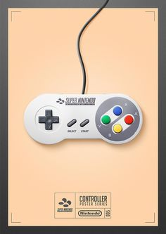 Check out these fantastic fan-made posters of classic gaming controllers  - DigitalSpy.com