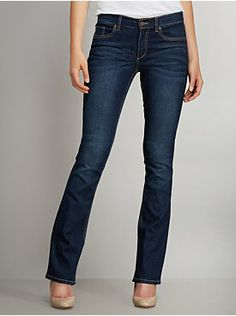 Bootcut Jean - Dark Tide Wash - Tall from New York & Company  (Need to try these on!)