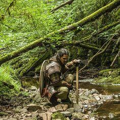 Quiet water  #vikings #armor #warrior #vikingwarrior #vikingstuffs #haxe #shield #vikingshield #vargarian #quietwater