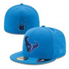 50969238fcc Houston Texans New Era NFL Tonal Pop Basic 59Fifty Hat (Blue) 59fifty Hats