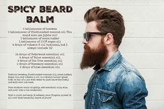 I've tried a lot of men's beard balm and my husband loves this one the most!
