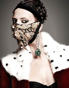 manolo campion punk2 Martha Streck Has Punk Attitude for V Magazine Shoot by Manolo Campion