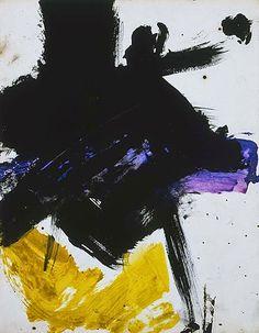 Zona-Arquitectura: Franz Kline #Arte #Pintura