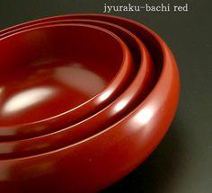 寿楽鉢 本朱  japanese tableware