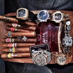 PP's, AP's, RM's and Rolex - what a combo!