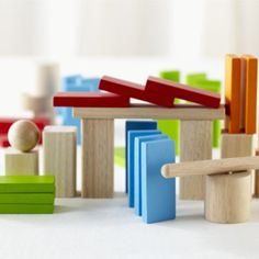 Our Tumbling Dominoes set comes with everything you need to set off elaborate chain reaction.  The only thing missing is somebody to come to your house and help you clean them up.