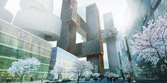 Gallery of Cross # Towers / BIG - 8