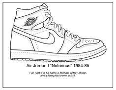The ULTIMATE Coloring Book For Sneakerheads Who LOVE Air Jordans Perfect Gift Any Jordan Fan Adult Or Child 25 Original Sneaker Illustrations