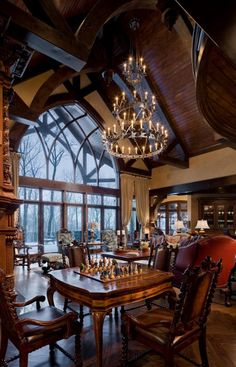 Gothic Castle In The Blue Ridge Mountains