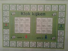 Het klok kijken spelenderwijs oefenen met dit bingospel. Te downloaden van digischool.