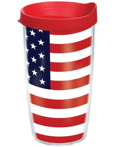 American Flag Patriotic Travel Cup by Tervis American Pride, American Flag, American Spirit, Independance Day, Home Of The Brave, Star Spangled, Old Glory, Tumblers, Tervis Tumbler