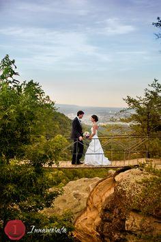 Karen & Frederico, Photo by Innamorata, Grandview Wedding, Georgia Wedding, Lookout Mountain, Rock City, Swinging Bridge