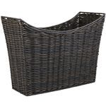 Dark Plicker Magazine Basket -- I could use this in any room of our house!