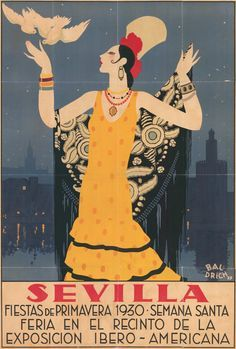 spanish travel posters - Google Search