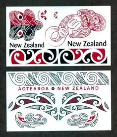 Maori Red & Black Temporary Tattoos / Set of 13 Tattoo Set, Arm Band Tattoo, Maori Tattoo Designs, Design Tattoos, Maori Symbols, Tiki Faces, Maori Patterns, Polynesian Art, Tribal Tattoos