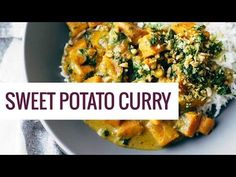 Creamy Thai Sweet Potato Curry - Pinch of Yum