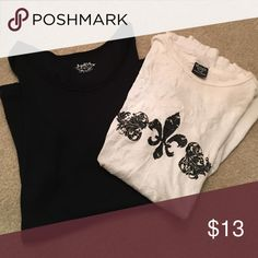 T shirt 👚 bundle , Lightly worn. My mom want to sell these on my posh Mark.📦📦📦📦📦📦📦💕💕💕 SO Tops Tees - Short Sleeve