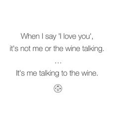 Just saying.  #winespo