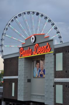 Paula Deen's at the Island in Pigeon Forge.