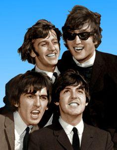The Beatles: Ringo Starr, Paul McCartney, George Harrison and John Lennon Foto Beatles, Beatles Love, Les Beatles, Beatles Photos, Beatles Band, John Lennon Beatles, Ringo Starr, George Harrison, Liverpool