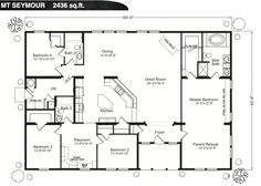 barn house blueprints floor plans - Floor Plans For Houses