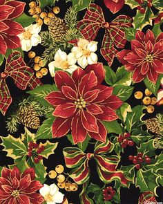 Christmas Tidings - Scottish Holiday - Black/Gold