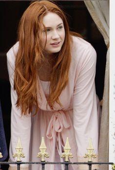 mooi rood is niet lelijk ♥ Red hair - Karen Gillian