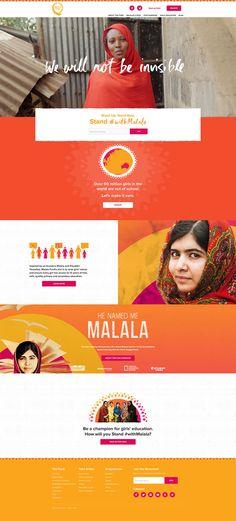 Malala Fund website
