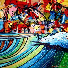 Surf Explosion by Phillip Morrison