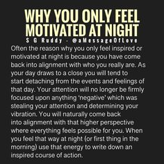 This is often the reason for that late night motivation and inspiration. Spiritual Guidance, Spiritual Quotes, Positive Quotes, Motivational Quotes, Words Quotes, Wise Words, Life Quotes, Radical Honesty, Awakening Quotes