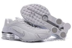 http://www.jordannew.com/mens-nike-shox-r4-shoes-white-brilliant-silver-new-style.html MEN'S NIKE SHOX R4 SHOES WHITE/BRILLIANT SILVER NEW STYLE Only $77.26 , Free Shipping!