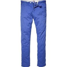 Scotch & Soda - Stretch Pima Cotton Chino - Cobalt (via ShopStyle/Ron Robinson; $109)