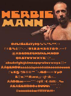 Download another cool and eclectic GAUTFONT Herbie Mann – 258 glyphs - 4 weights #GautFonts #HerbieMann #Jazz Jaz Z, World Music, Glyphs, Weights, Album, Cool Stuff, Face, The Face, Faces