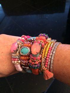 Ibiza style armband. love it!