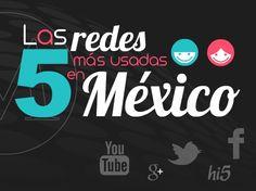 Las 5 #redessociales más utilizadas en México, ¿tú cuál usas más? http://mile.io/JPFOZN