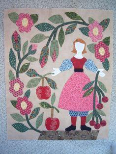 The Civil War Bride Quilt: the bride Applique Patterns, Applique Designs, Quilt Patterns, Block Patterns, Yoko Saito, Quilting Tutorials, Quilting Projects, Civil War Quilts, Patriotic Quilts