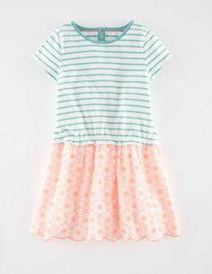 Broderie T-shirt Dress