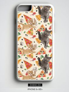 Pizza Cat iPhone Case Tumblr Gift for Her iPhone 4 4s 5 5s 5c 6s 6 7 plus SE Samsung Galaxy S4 S5 S6 S7 Edge Note 3 4 5 by zoobizu from zoobizu. Find it now at http://ift.tt/2dW21Jz!