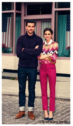 And the most stylish couple goes to (29 photos)