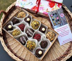 Vegan Chocolate by Witerki Vegan Chocolate Truffles, Artisan Chocolate, Handmade Chocolates, Like Chocolate, Personalised Box, Mini Cupcakes, Bakery, Etsy Seller, Free Shipping