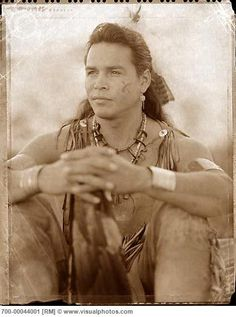 visualphotos.com -Portrait of Native American Mohawk Man