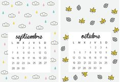 calendario 2015 para imprimir